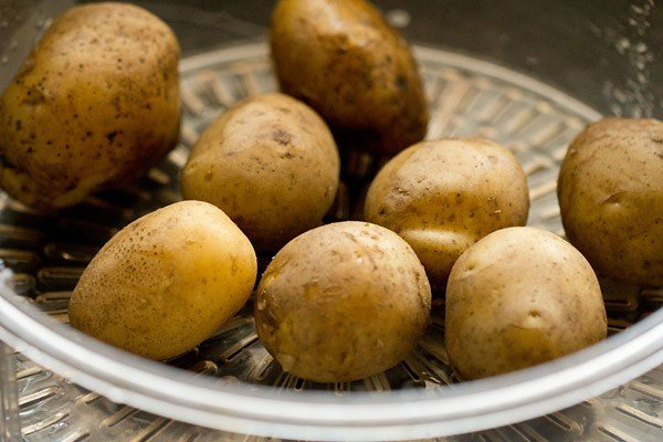 potatoes for farali pattice recipe
