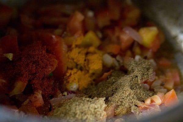 spices for lobia masala recipe