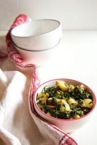aloo methi recipe, how to make punjabi aloo methi recipe
