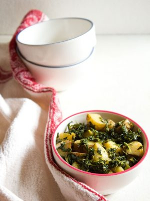 aloo methi recipe, how to make aloo methi