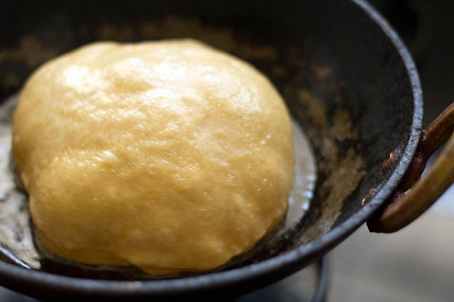frying bhatura