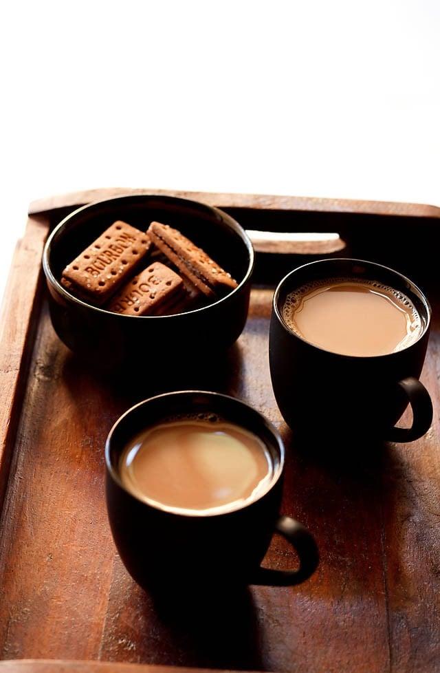 ginger tea recipe, how to make indian ginger tea, adrak wali chai recipe