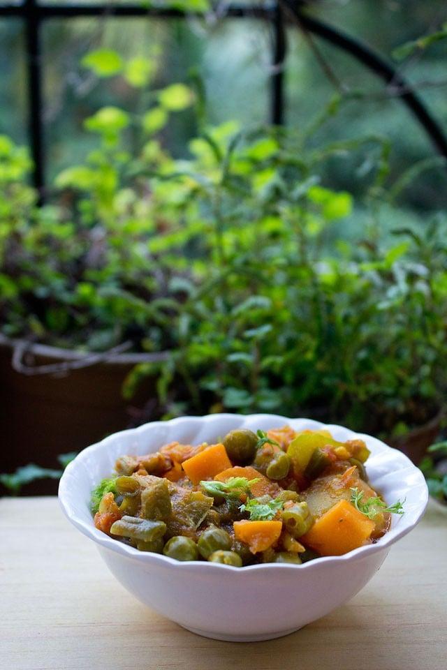 indian mix vegetable recipe