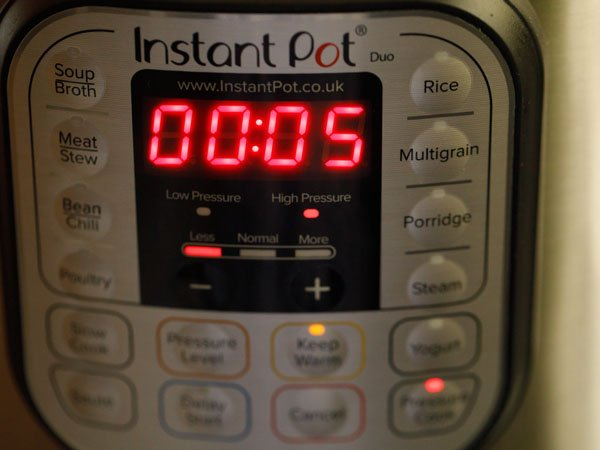cooking pulao in instant pot