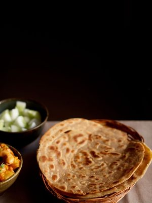 lachha paratha recipe, how to make lachha paratha recipe