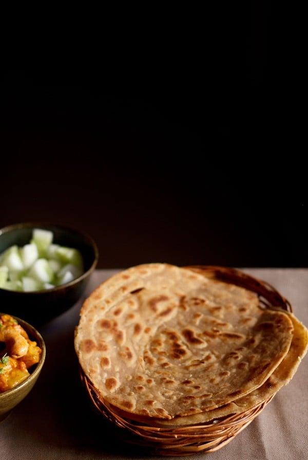Lachha paratha recipe, How to make lachha paratha | Lachedar paratha