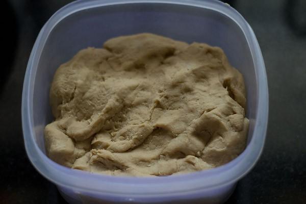 dough for lachha paratha recipe