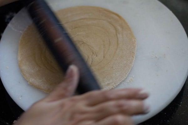 roll into parathas - lachedar parathar recipe
