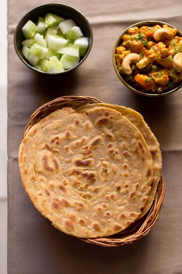 lachedar paratha, lachha paratha recipe