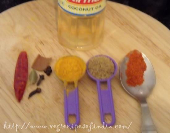 lobia masala ingredients