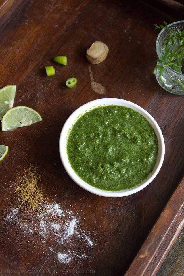 Mint Coriander Chutney Recipe, How to make Mint Coriander Chutney