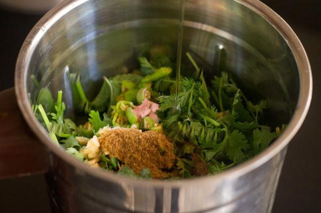 mint coriander chutney recipe