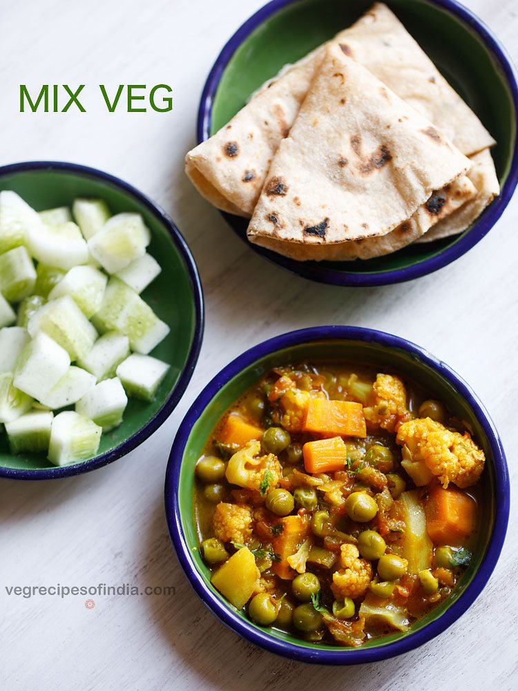 mix veg curry recipe