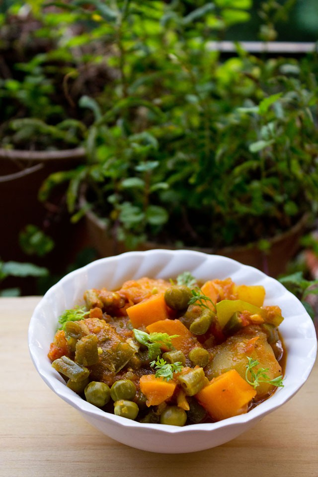 Mix Vegetable Recipe, How to make Mix Vegetable Recipe
