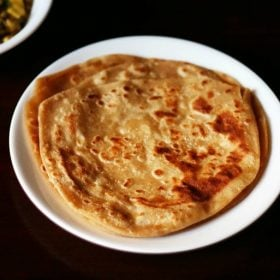 paratha recipe, plain paratha recipe