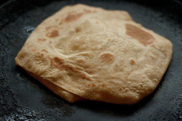 making plain paratha recipe