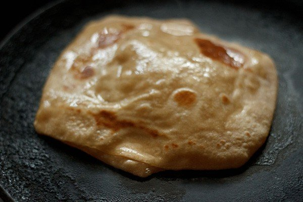 making plain paratha recipe