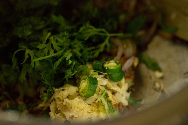ginger for spicy vegetable pulao recipe