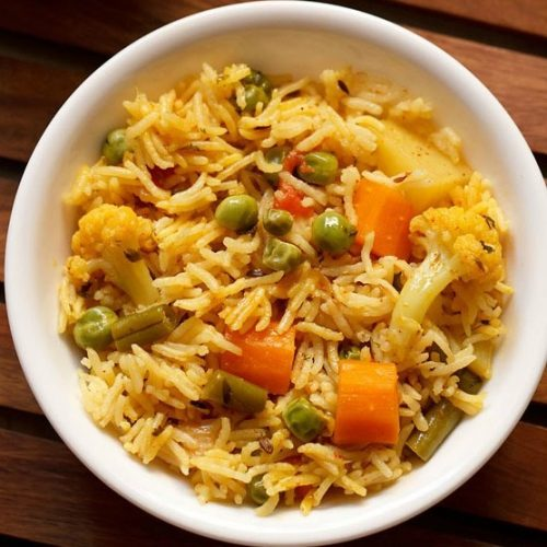 spicy pulao recipe, spicy veg pulao recipe