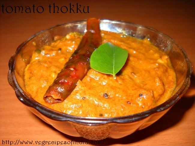Tomato Thokku Recipe, How to make Tomato Thokku Recipe