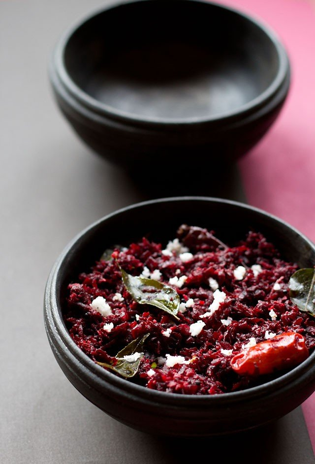 Beetroot Thoran Recipe, How to make Beetroot Thoran Recipe