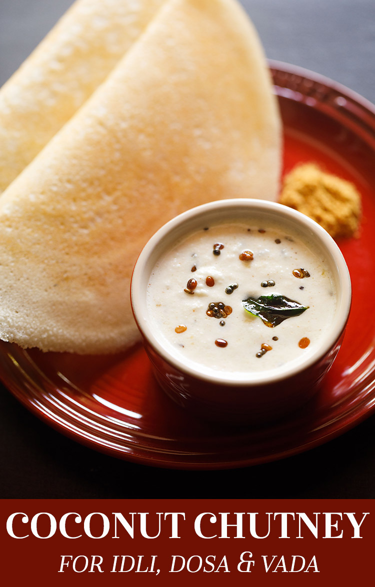 coconut chutney, coconut chutney for idli dosa