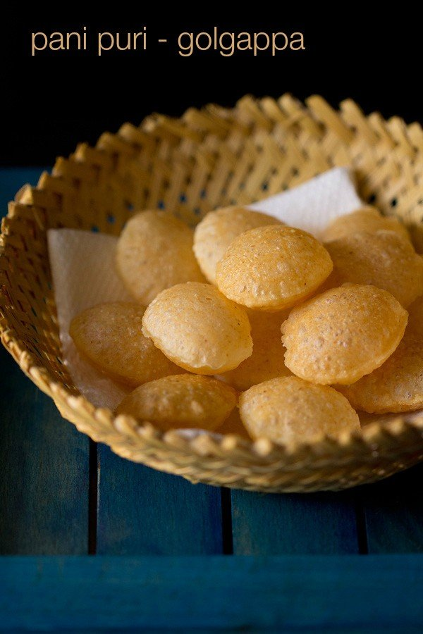 puri recipe for pani puri, how to make puri for golgappa or pani puri