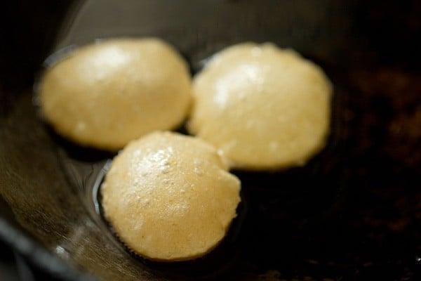 frying puri for pani puri recipe