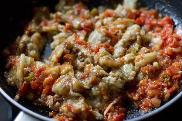 mix - punjabi baingan bharta recipe