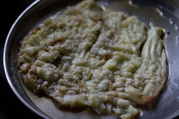 chop baingan - punjabi baingan bharta recipe