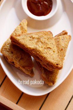 bread pakora recipe with stuffed potato | tasty stuffed bread pakora recipe