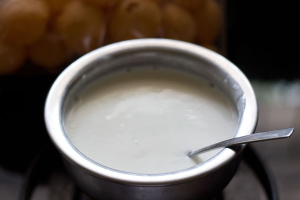 curd for dahi sev batata puri recipe