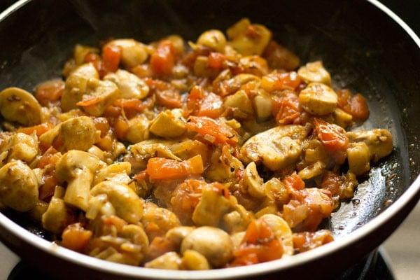 making dhingri dolma recipe