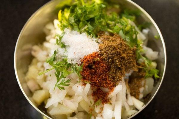 making pani puri recipe