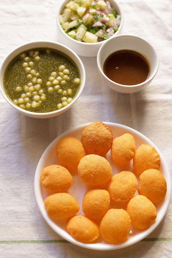 puri for pani puri recipe