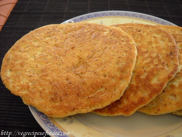 soyabean flaxseeds pancake