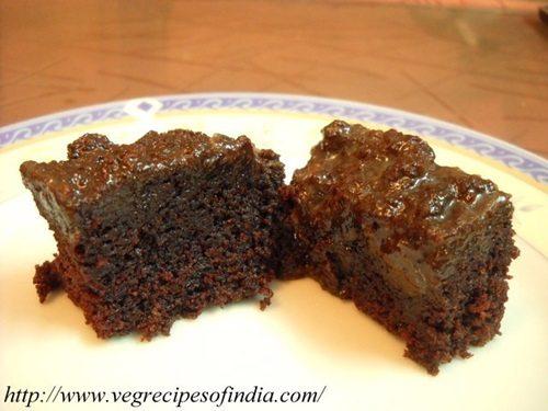 Eggless Chocolate Cake Recipe with Flaxseed