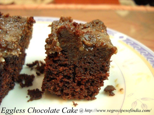 Eggless Chocolate Cake Recipe | Pressure cooker Chocolate Cake Recipe