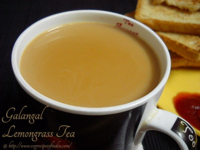Galangal Tea Recipe, How to make Galangal Tea with Lemongrass