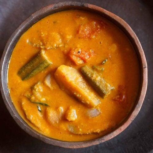 sambar recipe kerala style, kerala sambar recipe
