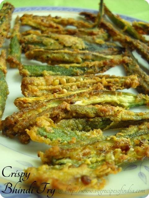 Bhindi Fry Recipe or Kurkuri Bhindi, How to make Bhindi Fry   Okra Fry