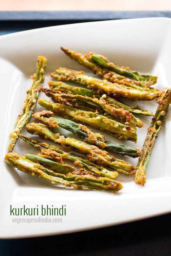 Kurkuri Bhindi Recipe | Bhindi Fry Recipe | How to make Kurkuri Bhindi Recipe