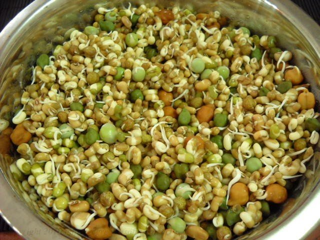 mixed bean sprouts at home
