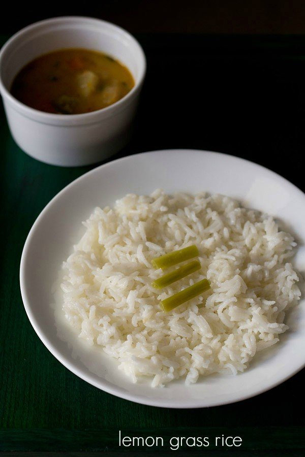 lemon grass rice recipe, thai lemon grass rice recipe