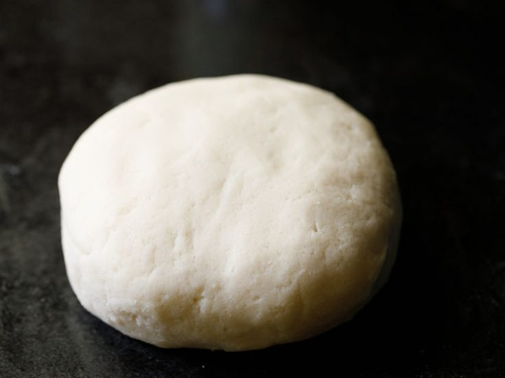kneaded to a smooth and soft dough