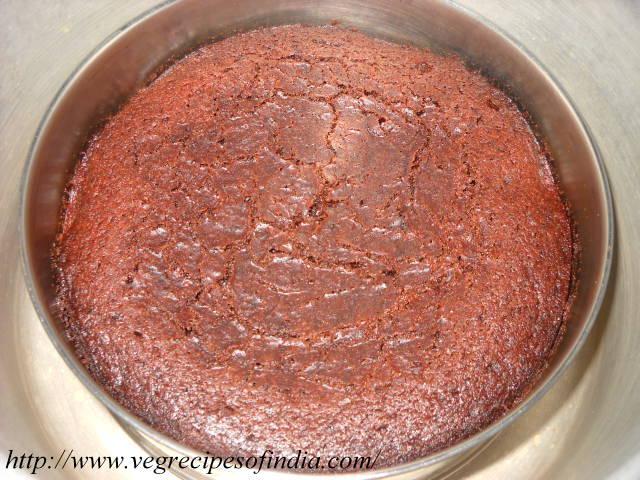 pressure cooked eggless cake
