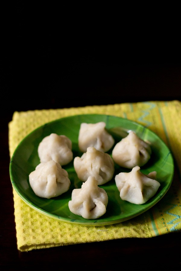 modak recipe, how to make ukadiche modak, steamed modak recipe