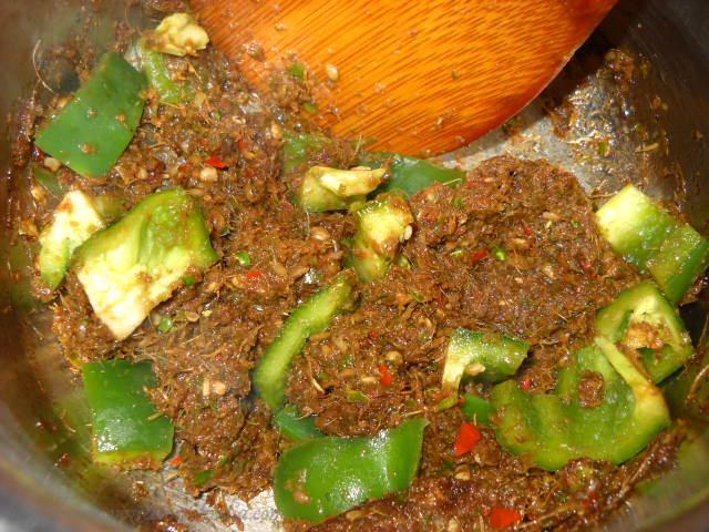 capsicum green curry paste