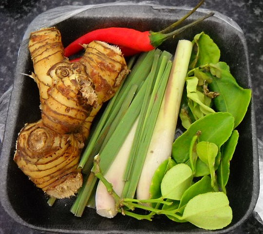 thai kit for veg curry