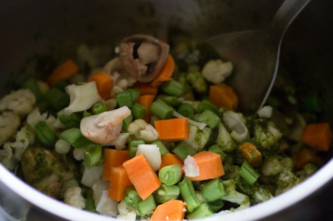 thai veg green curry recipe